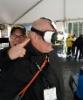 Demo 2016 messut Kanadassa - Ponssen Juho Nummela laittoi Wahlersin Ralf Dreekelle VR-lasit päähän ja päästi virtuaali Ponssen irti