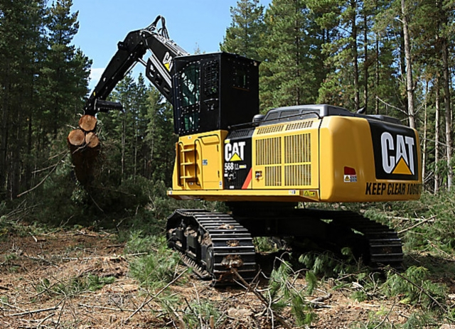 Amerikan metsäkoneita - CAT 558