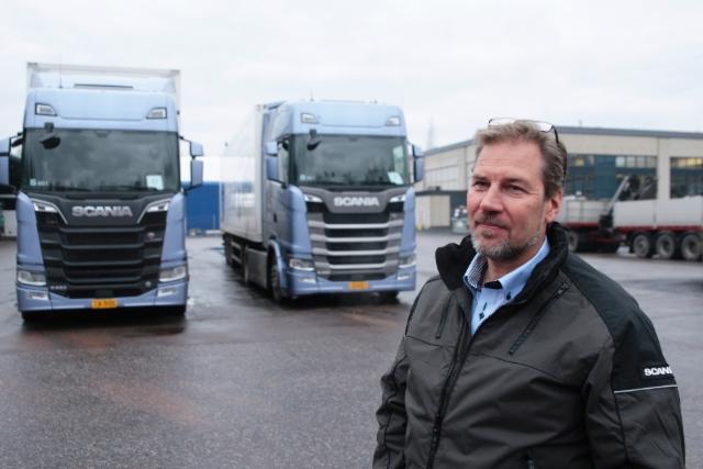 Uuden sukupolven Scaniat tien päällä - Helsinki 1.11.2016