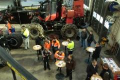 Komatsu metsäkonehuollon avajaiset 2.12.2016 Mikkelissä - Raskaspari Oy