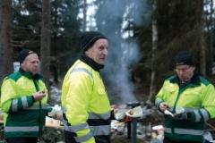 Suomen Työkone Oy järjesti Rottne metsäkoneiden työnäytöksen Riihimäellä 13.12.2016
