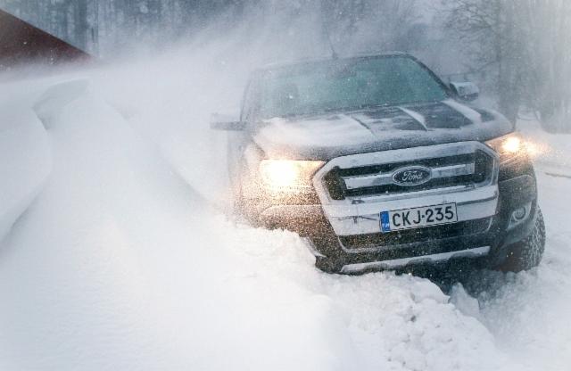 Nyt on koeajokelit kohdillaan - Ammattilehti Koeajaa - Ford Ranger