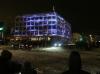 Lux Helsinki 2016 Valofestivaalissa 5.-9.1. Stora Enson pääkonttorin seinälle muodostui Cube -niminen valoteos