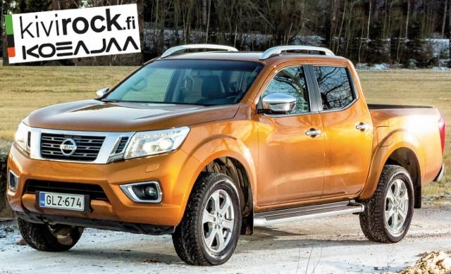 Kivirock - maarakennus- ja kaivosalan ammattilehti koeajaa: Nissan NP 300 Navara