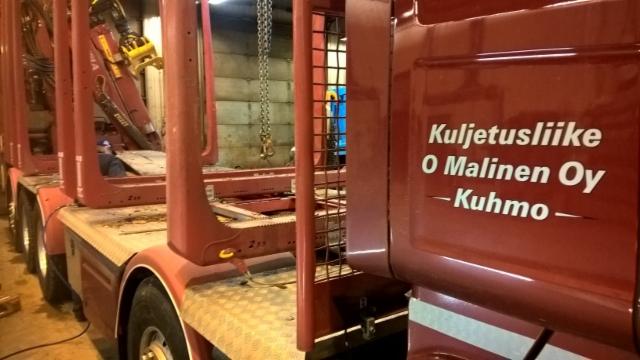 KUORMATILAA - 2017 .  - Stora Enson Enocell ,Uimaharju. Suomen itsenäisyyden 100 vuotisjuhlavuoden startti 16 - 17.1.2017.