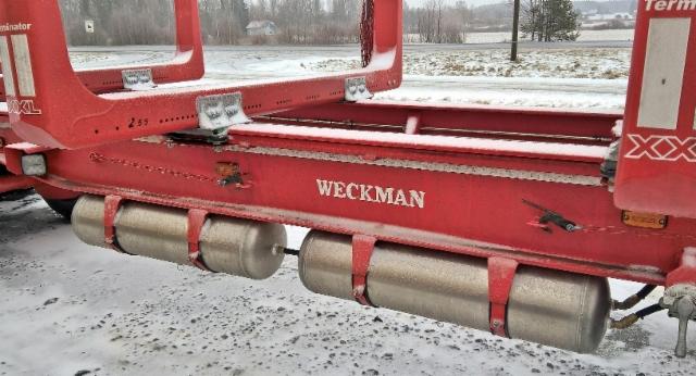 Weckmanin ilmasäiliöratkaisu.