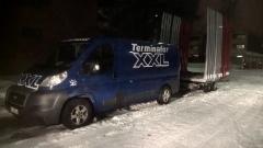 XX-Express kuljettaa pankot perille 24h/7vrk