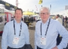 PMC Hydraulicsin Jussi Ijäs (vas.) ja Mikael Lundgren katastivat koneuutuudet ja samaan aikaan järjestetyn IFPE 2017 -hydrauliikka ja voimansiirtoalan erikoismessun tarjonnan.