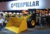 Amerikkalaista konenäyttelyä ei voi kuvitellakaan ilman Caterpillarin vahvaa läsnäoloa.