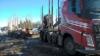 Kuormatilaa -2017 salonkivaunu Rovaniemen autoliikkeissä ja asematerminaalilla 31.3.2017