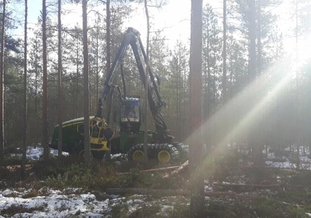 John Deere Forestryn Pohjanmaan Demokiertue 2017 - Alavus 30.3.