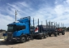 Scania puutavarayhdistelmä Uruguayssa (Ponssen Uruquayssa olon 10-vuotisjuhlat Paysandussa ja uuden palvelukeskuksen avajaiset)
