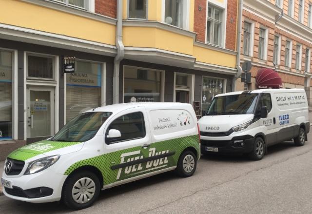 """Ammattilehti koeajaa: Mercedes-Benz Citan """"FuelDuel"""" ja Iveco Daily Hi-Matic"""