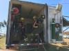 Ponssen suomalaiset asiakkaat tutustumassa Montes Del Platan savottaan Uruguayssa