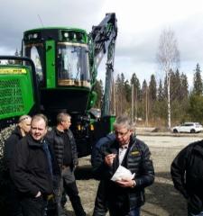 John Deere Forestryn Suolahden kevätpäivä 21.4.2017