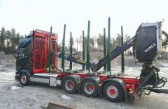 Scania puutavaravarustepaketit.