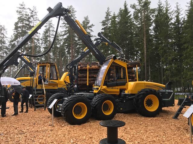 Elmia Wood 2017 Jönköping Ruotsi.