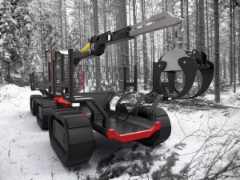 Metsäkoneet kehittyy koko ajan ja rakenteet mukautuu ajan vaatimuksiin. Kuvissa mielenkiintoisia prototyyppejä - johtaakohan jotkut ideat joskus vielä sarjatuotantoonkin...?