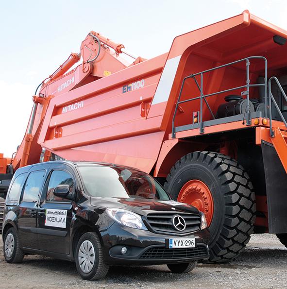 Ammattilehti Koeajaa: Mercedes-Benz Citan 112 AT BlueEFFICIENCY Automaatti
