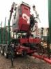 Puistometsäpalvelu Oldenburg Oy:n Sisu Polariin tuli kesäkuussa uusi sähköohjattu Loglift 118S nosturi