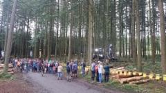 Demo Forest 2017 näyttelyssä Belgiassa tuotteitaan esitteli yli 200 yritystä 180 hehtaarin työnäytösalueilla - kävijöitä oli arvion mukaan jopa 40 000
