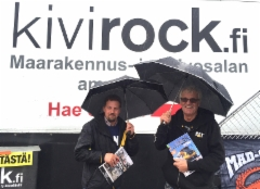 Maxpo 2017 Hyvinkää 7.-9.9. Maansiirto Marttusen väki haki Kivirock-lehdet