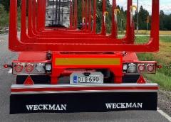 Edistyksellistä perävaunutekniikkaa Weckmanilta.