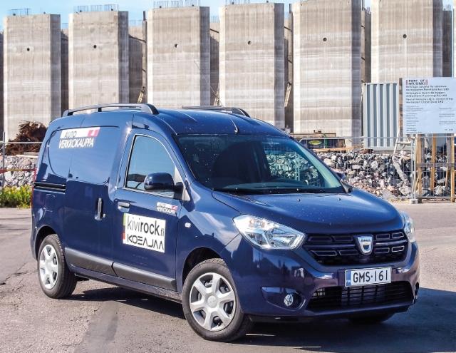 Ammattilehti Koeajaa: Dacia Dokker Van