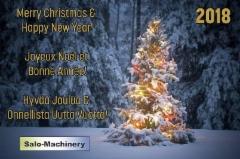 Salo-Machineryn Joulutervehdys
