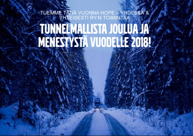 Volvo Trucksin Joulutervehdys