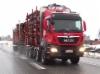 Kuljetusliike Pihlajakangas Ay:n 4-akselinen MAN TGS 35.500 puutavara-auto