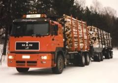 Ensimmäinen MAN -puutavara-auto malliltaan F2000 tuli Kuljetusliike Pihlajakankaalle vuonna 1997. Siitä lähtien MAN on ollut koko ajan mukana kalustossa.
