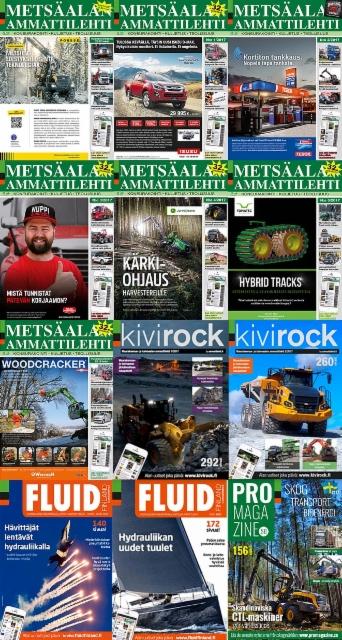 Ammattilehti tuotti lehtiä vuoden aikana ennätystahtia; 12 numeroa, 2.016 sivua ja 225.000 painettua lehteä + asiakaslehdet