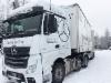 Ammattilehti koeajaa: Mercedes-Benz Actros 2553 LS 6x2/4 -rekkaveturi B-linkkiyhdistelmänä