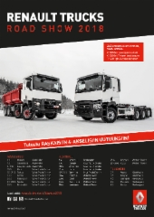Renault Trucks Road Show 2018 -kiertue