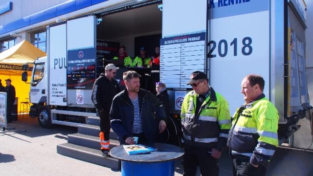 Tampere 13.4. - Puunkuormaajamestari 2018 kiertue