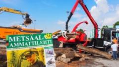 IFAT 2018 kierrätys ja materiaalinkäsittely messu Münchenissä - Metsäalan Ammattilehti paikanpäällä