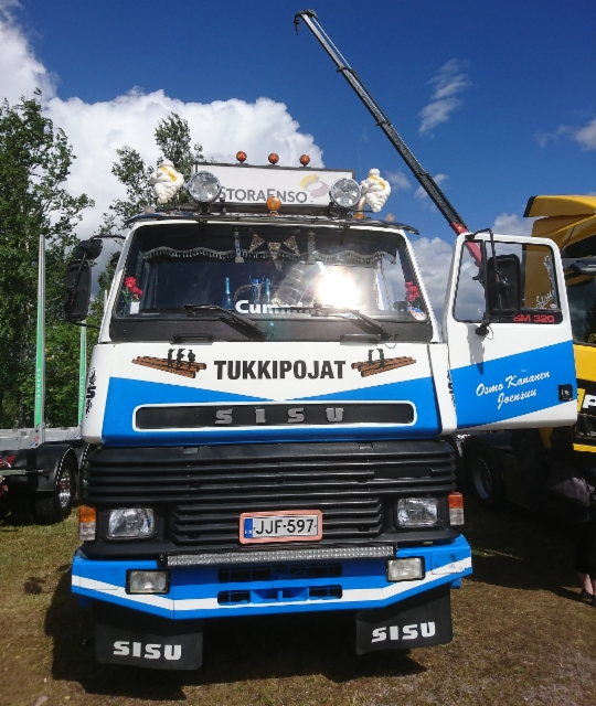 Riverside Truck Meeting - Loviisa - 30.6.2018