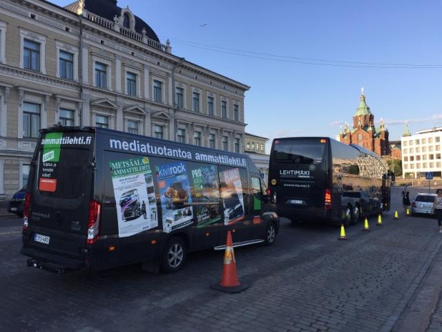 Ammattilehti on paikalla aina kun tapahtuu - tällä kertaa ihan kotikulmilla. Suomi on maailman keskipisteessä kun presidentit Trump ja Putin kohtaavat Presidentinlinnassa, mikä sijaitsee Ammattilehden mediatoimistosta muutaman sadan metrin päässä.