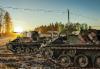 AMMATTILEHTI KOEAJAA: Saurer 4K panssarivaunu - Achtung, Panzer!