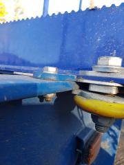 Ajoneuvorungoilla käytetään ääriasento stoppareita.Terminator XXL superkuormatilaa 10 vuotta.