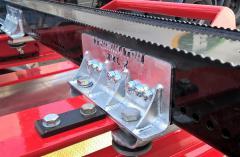 Pomminvarma tuplakiinnike kuuluu perävaunun  etupankkoon vakiona.Terminator XXL superkuormatilaa 10 vuotta.