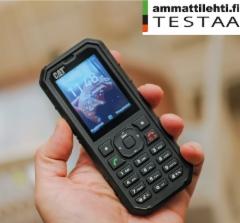 AMMATTILEHTI TESTAA: Cat B35 - Satasen peruspuhelin työkäyttöön