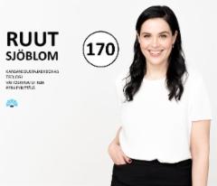 Ruut Sjöblom on ehdolla eduskuntavaaleissa huhtikuussa 2019 Kokoomuksen Uudenmaan piirissä, numerolla 170