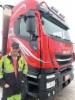 Kuljetusliike Pihlajakangas otti helmikuun lopulla 2019 ajoon uuden Iveco Stralis X-Way 8x4 puutavara-auton