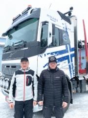 E ja H Pitkänen Ay, Kuusamo, Volvo FH16 750