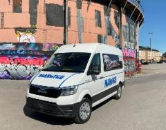 AMMATTILEHTI KOEAJAA: Täysin sähkökäyttöinen pakettiauto MAN eTGE