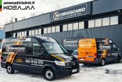 AMMATTILEHTI KOEAJAA: Volkswagen Crafter 2,0 TDI 35 4MOTION L2H2 - Hydrauliikan huoltoauto