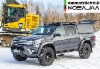 AMMATTILEHTI KOEAJAA: Dynasetin HG -hydrauligeneraattorilla varustettu etenemiskykyinen Toyota Hilux 2.4 4x4 AT32 lava-auto