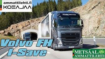 Ammattilehden koeajossa I-Save toiminnolla ja D13TC-moottorilla varustettu Volvo FH kuorma-auto